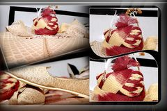 Indian traditional clothing accessories royalty free stock image