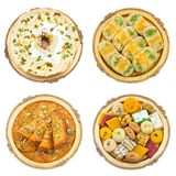 Mix sweet food. Indian traditional mix sweet food Stock Image