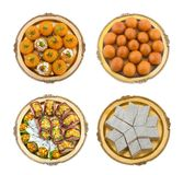 Mix sweet food. Indian traditional mix sweet food Royalty Free Stock Photos