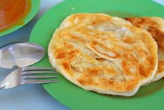 Indian traditional roti prata cuisine Stock Photo