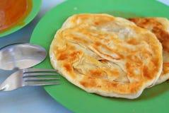 Indian traditional roti prata cuisine Stock Photo