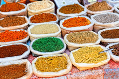 Indian traditional spices Royalty Free Stock Photography