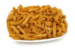 Soya snack. Indian traditional spicy Soya snack food stock images