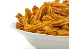 Soya snack. Indian traditional spicy Soya snack food royalty free stock photos