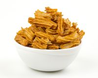 Soya snack. Indian traditional spicy Soya snack food stock photography