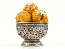 Balushahi sweet. Indian traditional sweet food balushahi Royalty Free Stock Photography