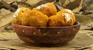 Balushahi sweet. Indian traditional sweet food balushahi Stock Image