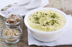 Shrikhand Sweet Food stock image