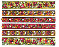 Indian Traditional Textile Des Stock Image