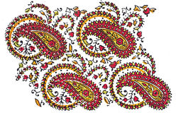 Indian Traditional Textile design Royalty Free Stock Photography