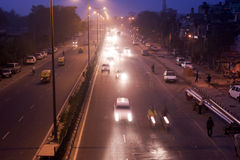 Indian traffic Stock Images