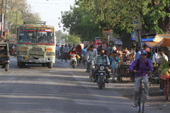 Indian Traffic Royalty Free Stock Image