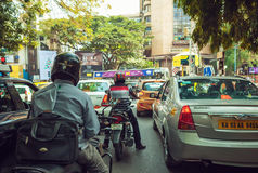 Indian traffic Royalty Free Stock Photo