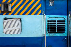 Indian train second class coach Stock Photography