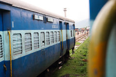Indian trains Stock Photography