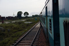 Indian trains Stock Image