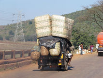 Indian transportation to the market Stock Photography