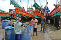 Indian Trawler Stock Photography
