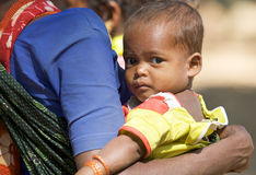 Indian tribal child Stock Images