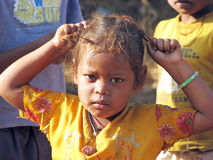 Indian tribal child Royalty Free Stock Image