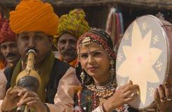 Indian tribal folk group Stock Photography