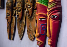 Indian tribal mask Royalty Free Stock Photography