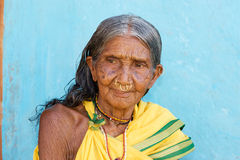 Indian tribal woman Stock Image