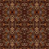 Indian tribes design inspiration. Ethnic geometric seamless vintage doodle ornamental pattern. Indian tribes design inspiration. Ethnic geometric seamless royalty free illustration
