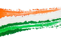 Indian Tricolor Royalty Free Stock Photos