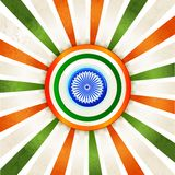 Indian Tricolor Background Royalty Free Stock Photos