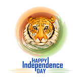 Indian tricolor background for 15th August Happy Independence Day of India. Vector illustration of Indian tricolor background for 15th August Happy Independence vector illustration