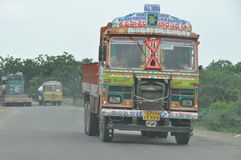 Indian truck Stock Photo