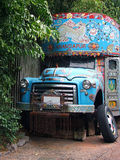 Indian Truck. Replica of a broken down Indian Truck royalty free stock images