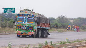 Indian Trucking Stock Photography