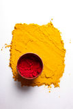 Indian turmeric and roli royalty free stock image