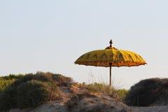 Indian umbrella Stock Photography