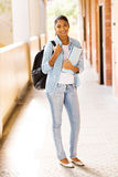 Indian university student Royalty Free Stock Image