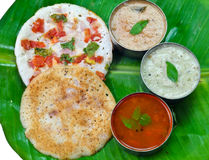 Indian Uttapam Royalty Free Stock Images