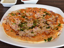 Indian Uttapam Stock Image