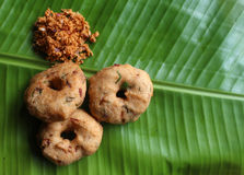 Indian vada Royalty Free Stock Images