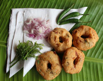 Indian vada Stock Photos