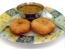 Indian vada samber Royalty Free Stock Image