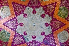 Indian vase, patterns Royalty Free Stock Photo