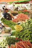 Indian vegetable market Stock Photo