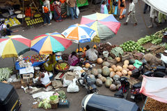 Indian Vegetable Market Royalty Free Stock Image