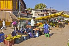 Indian vegetable market Stock Images