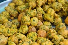 Vegetable Pakora Stock Photography
