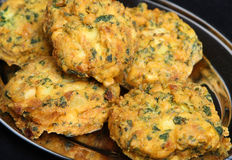 Indian Vegetable Pakoras Stock Photo