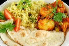 Indian Vegetarian Stock Photo