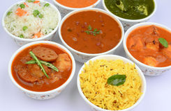 Indian vegetarian Stock Image